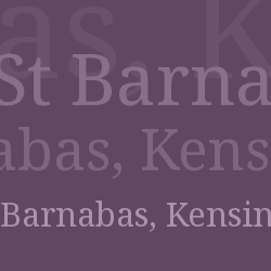 St Barnabas, Kensington