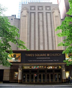 Times Square Church, New York