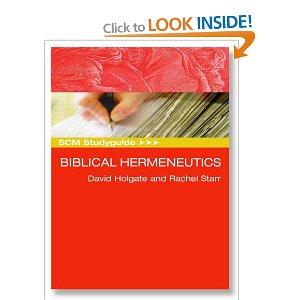 Biblical Hermeneutics (SCM Study Guide)
