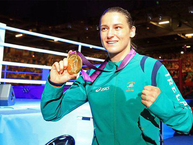 Boxer Gets Gold 'by the grace of God'