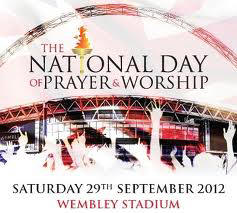 Excited to Worship at Wembley