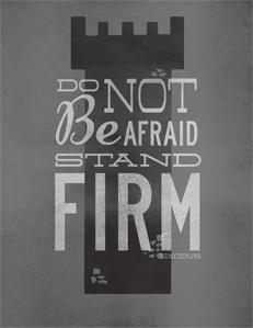 The opposite of faith: fear?