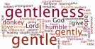 Gentleness: a forgotten virtue?